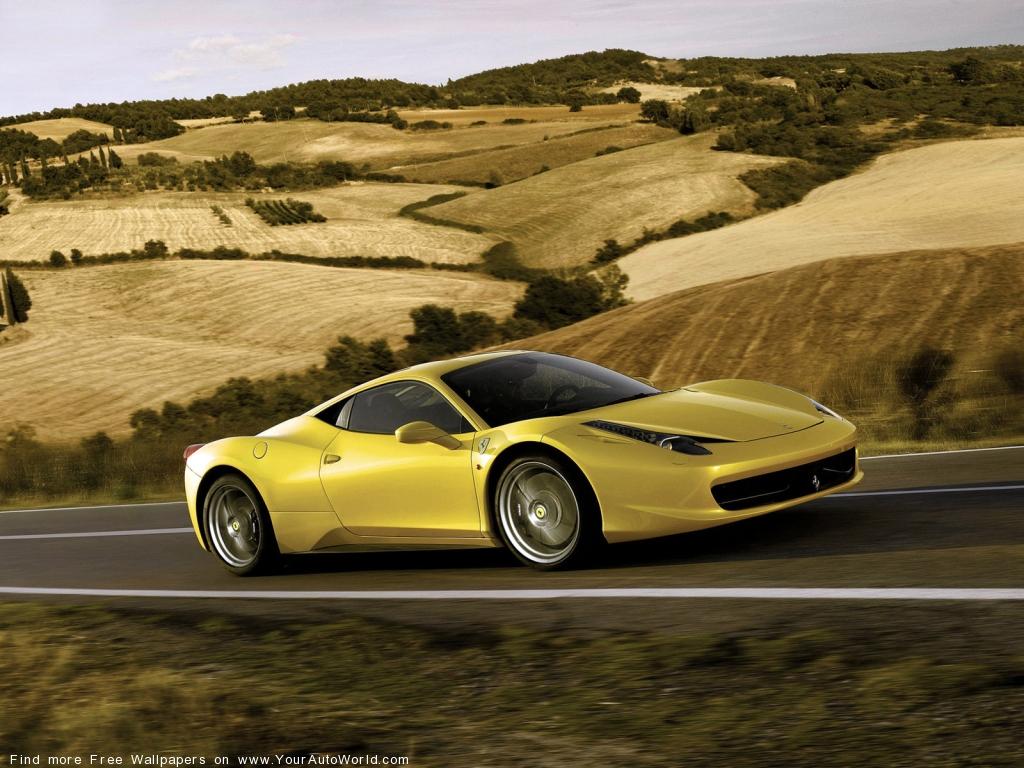 Фотографии Ferrari 458 Italia Фо…