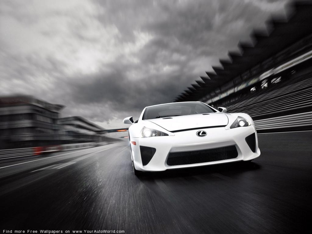 Фото Lexus LFA 2011 авто.